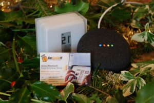 Google Home Mini Netatmo Thermostat Christmas